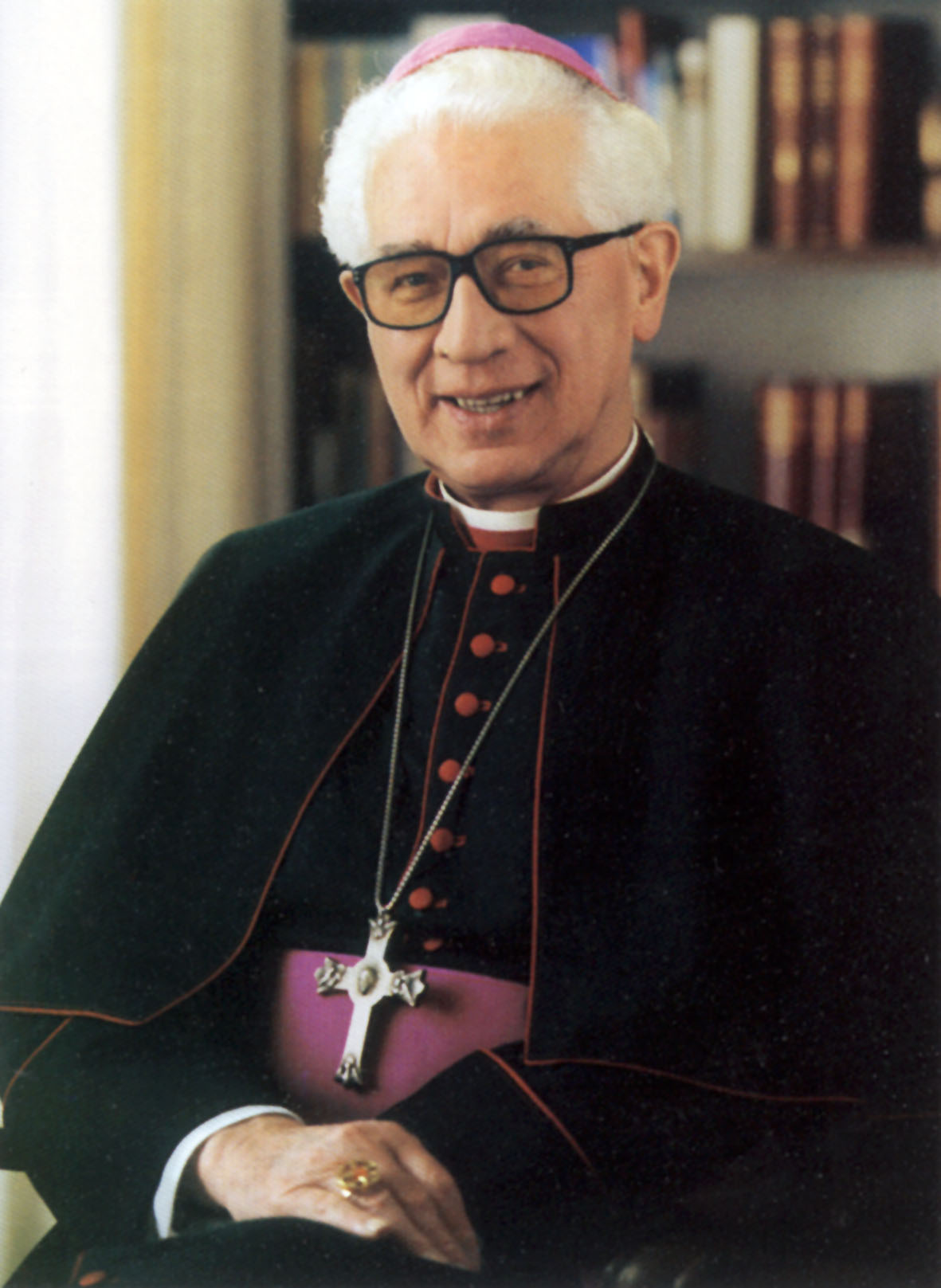 Foto von Bischof Josef Homeyer