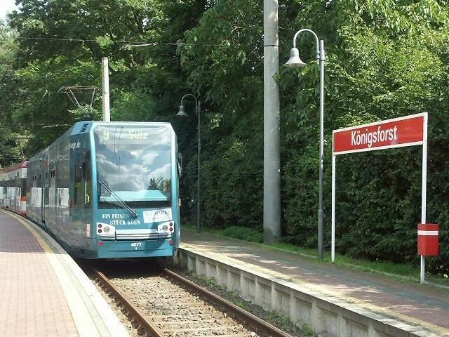 Köln Brück  Endhaltestelle Königsdorf