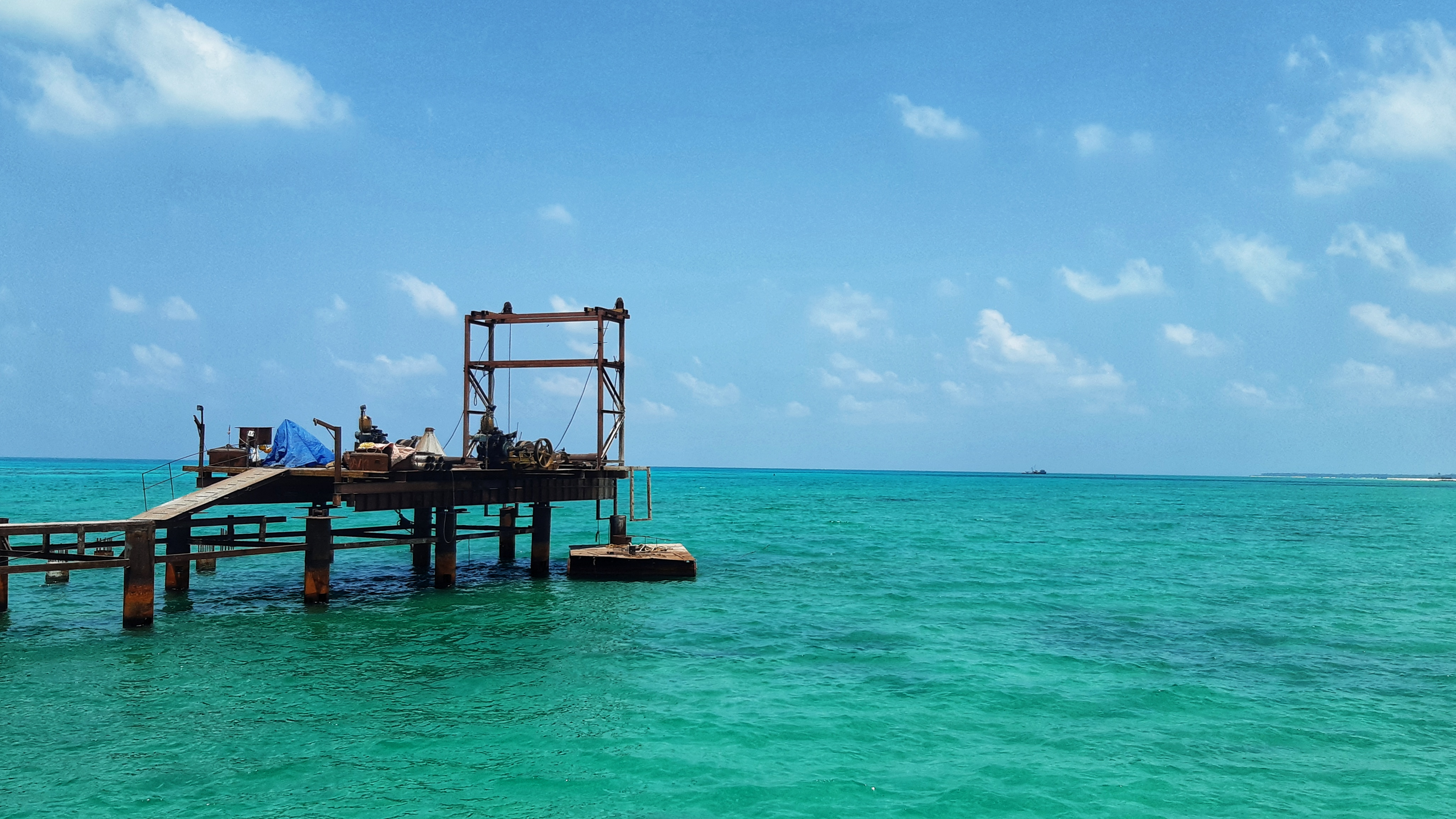 A click of  Kalpeni Island which is one of the top attractions in Lakshadweep