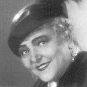 Karin Swanström ca 1930-tal.