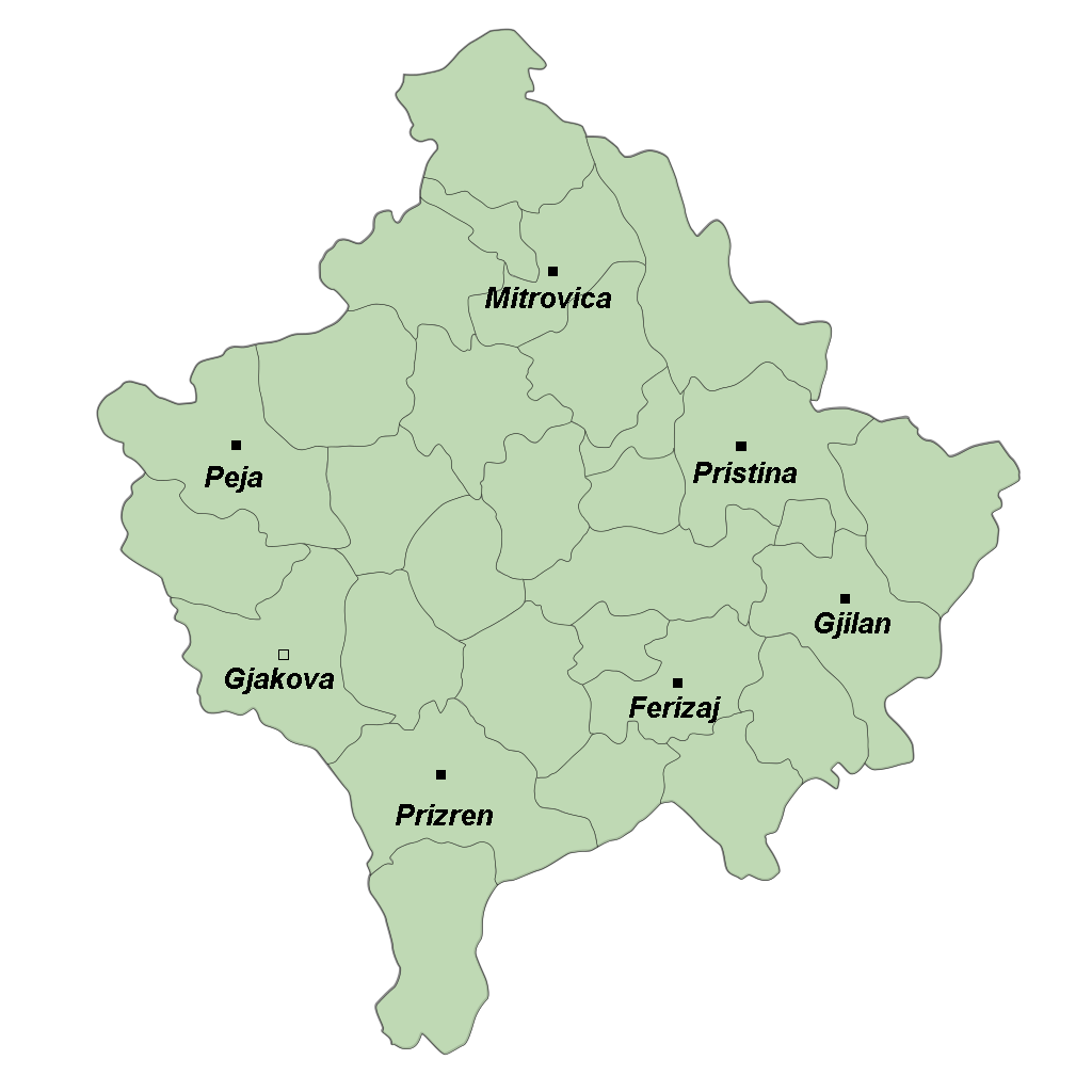 FileKosovo Cities Mappng Wikimedia Commons