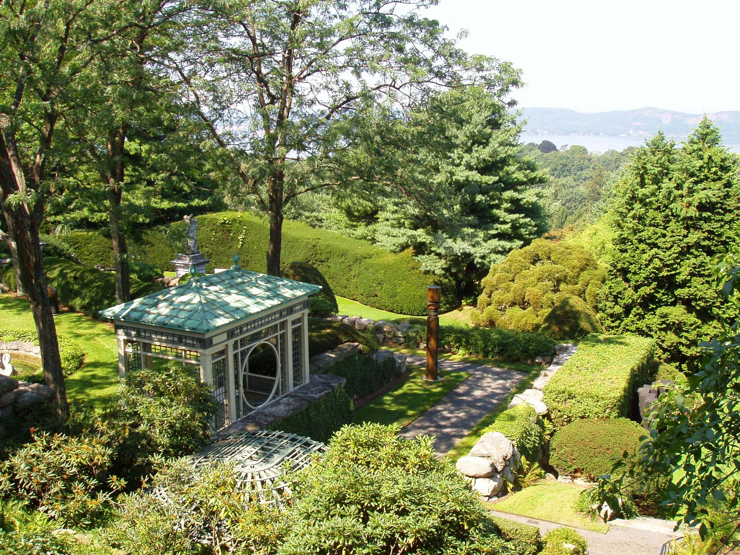 file kykuit tarrytown ny a garden jpg wikimedia commons