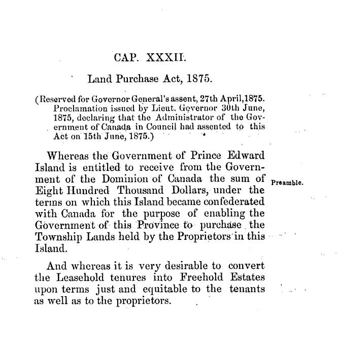 Land Purchase Act (1875) - Wikipedia