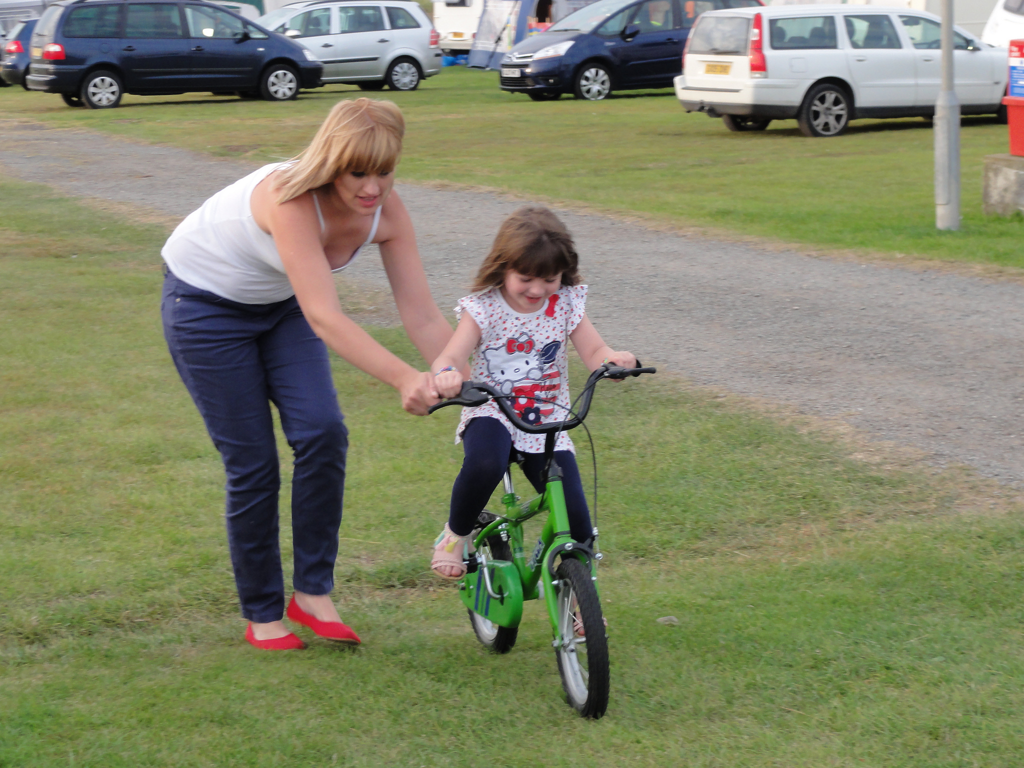 Learning how to ride a bicycle