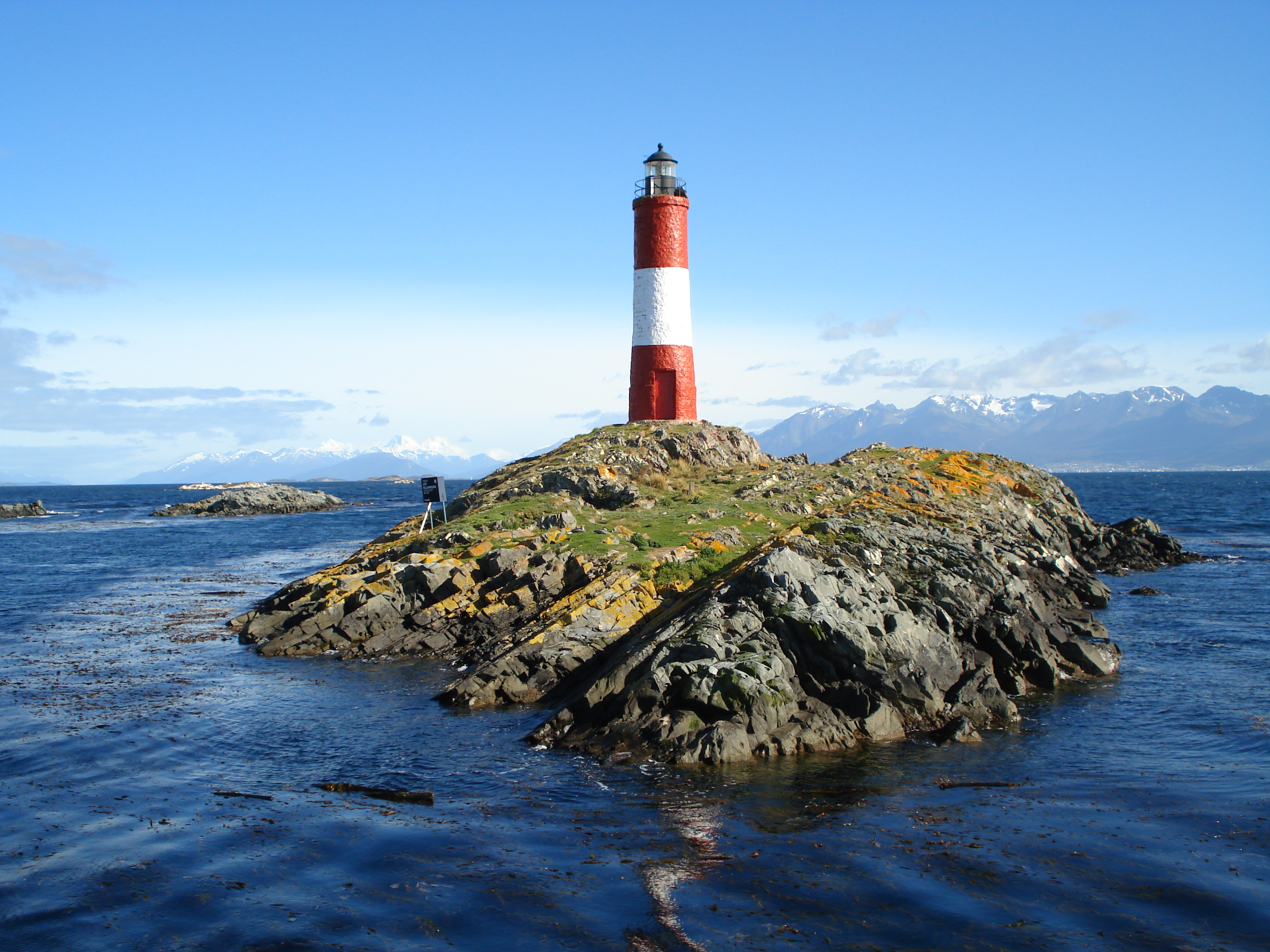 Patagonia South America >> Les Eclaireurs Lighthouse