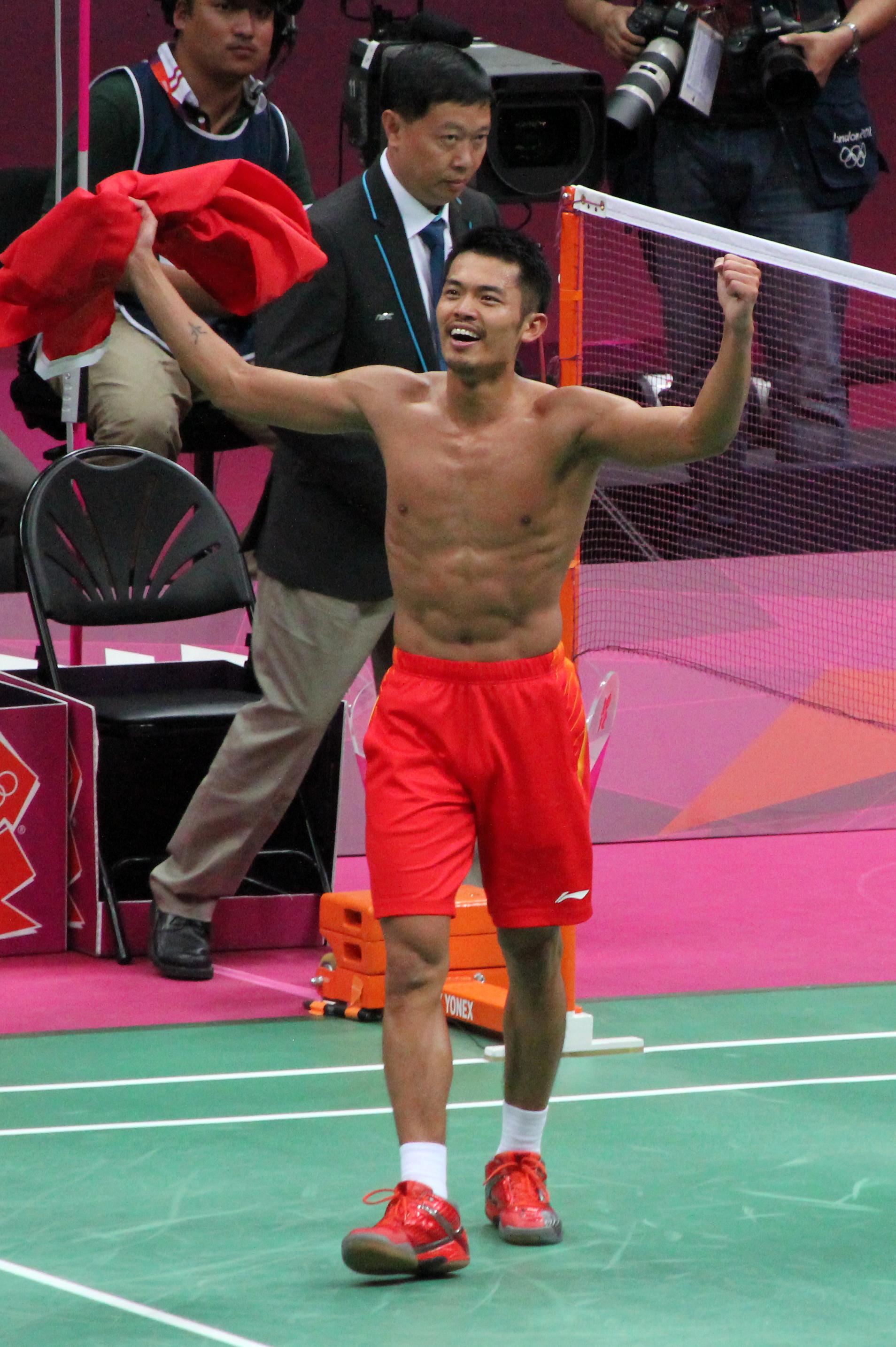 File Lin Dan Triumphs Wikimedia mons