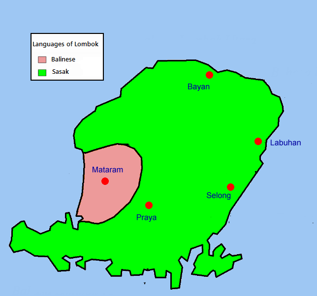 FileLinguistic map of Lombokpng Wikimedia Commons