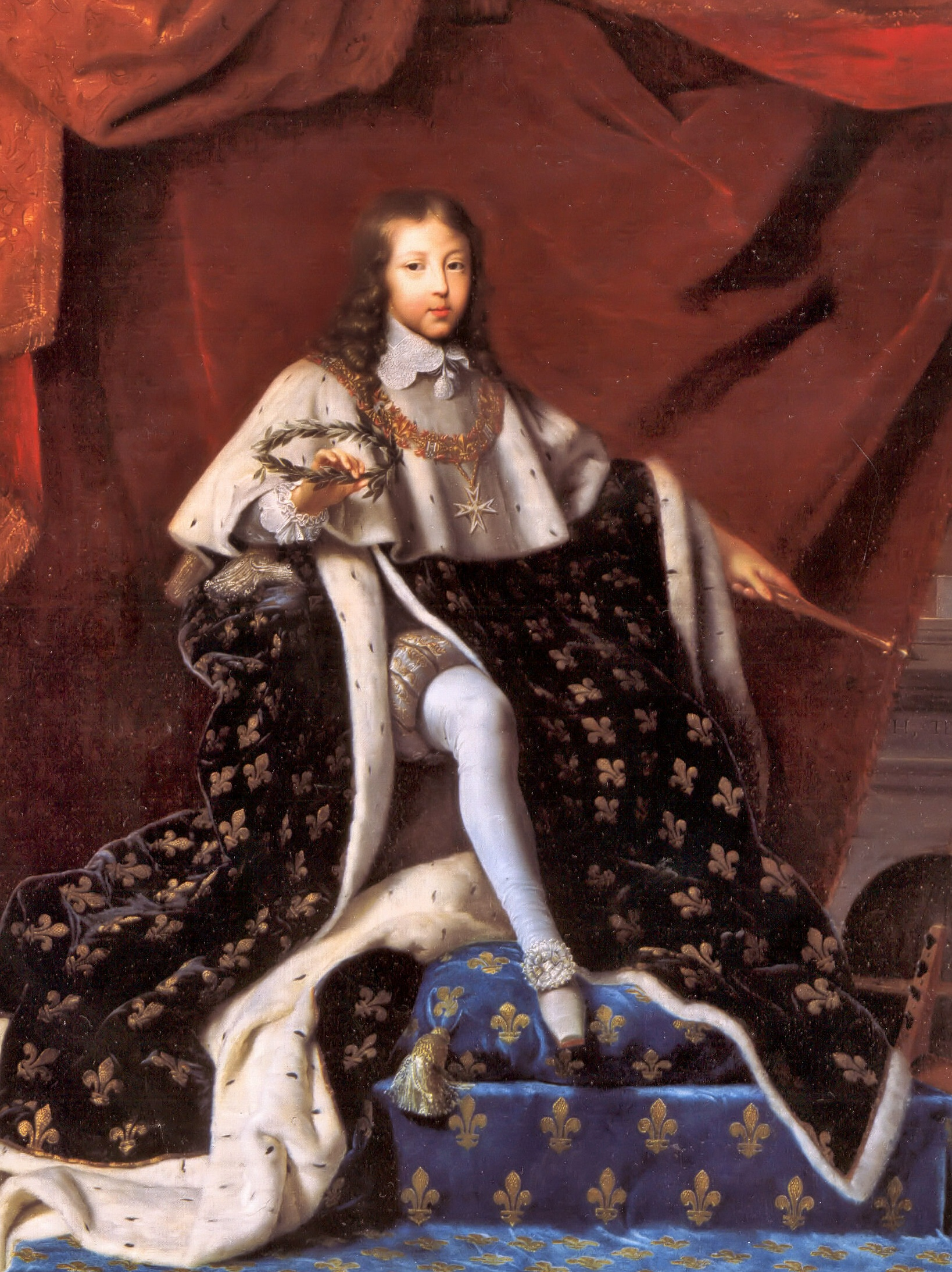 Fichier:Louis XIV 1648 Henri Testelin.jpg