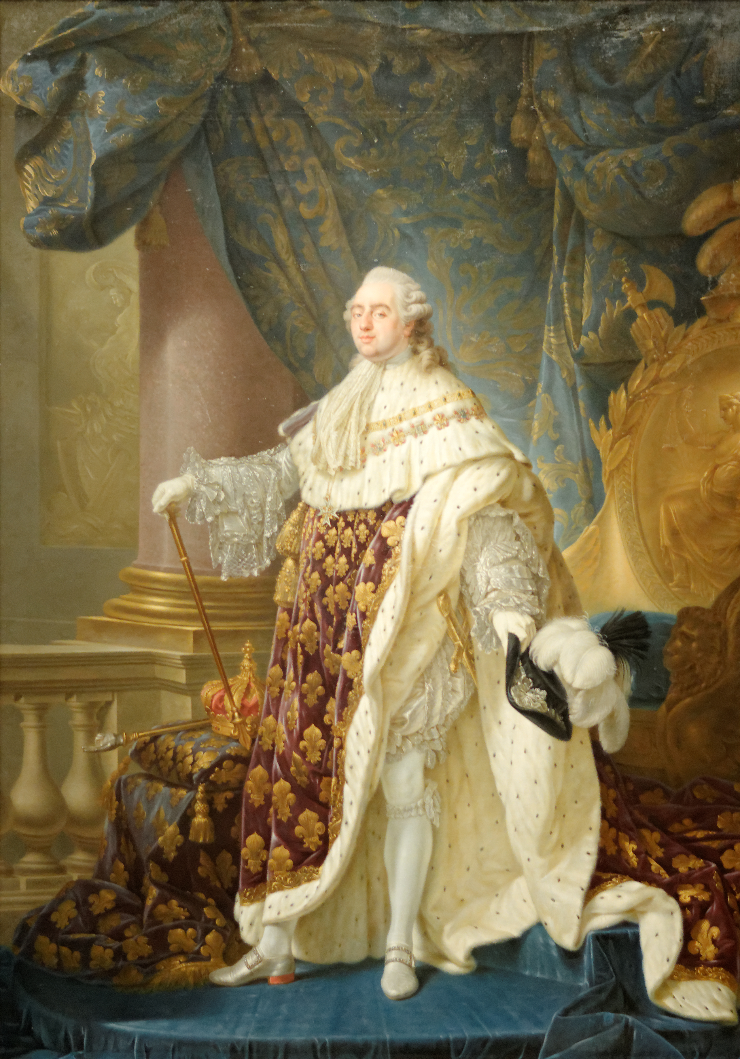 jean-jacques-hauers-the-last-farewells-of-louis-xvi-to-his ...