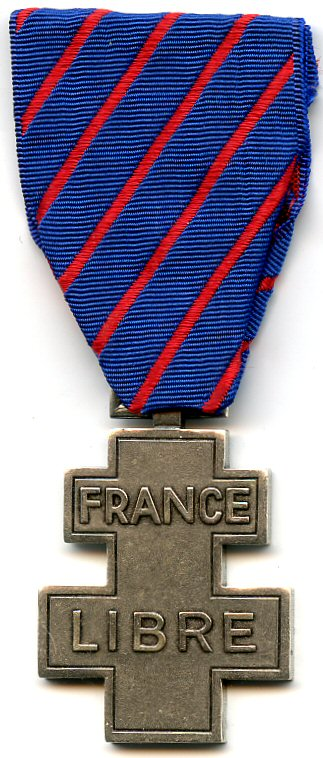 Commemorative medal for voluntary service in Free France - Wikipedia