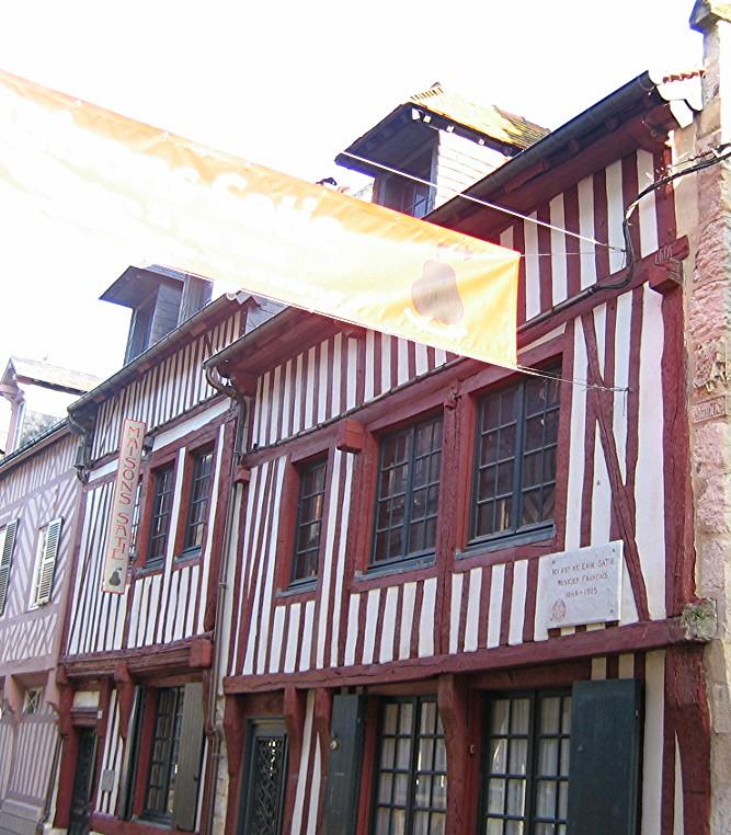 Casa de Satie en Honfleur, Normandía.