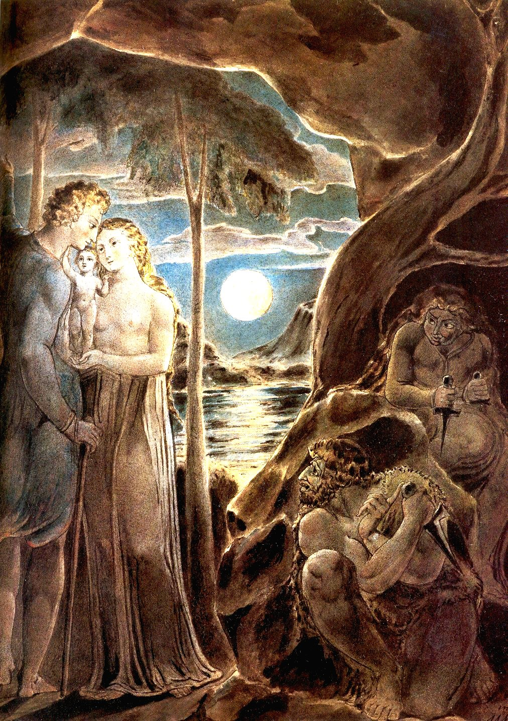 william blakes spirituality William blake was a visionary poet and artist, wrote epics and children's rhymes, and made illustrated books that still admired.