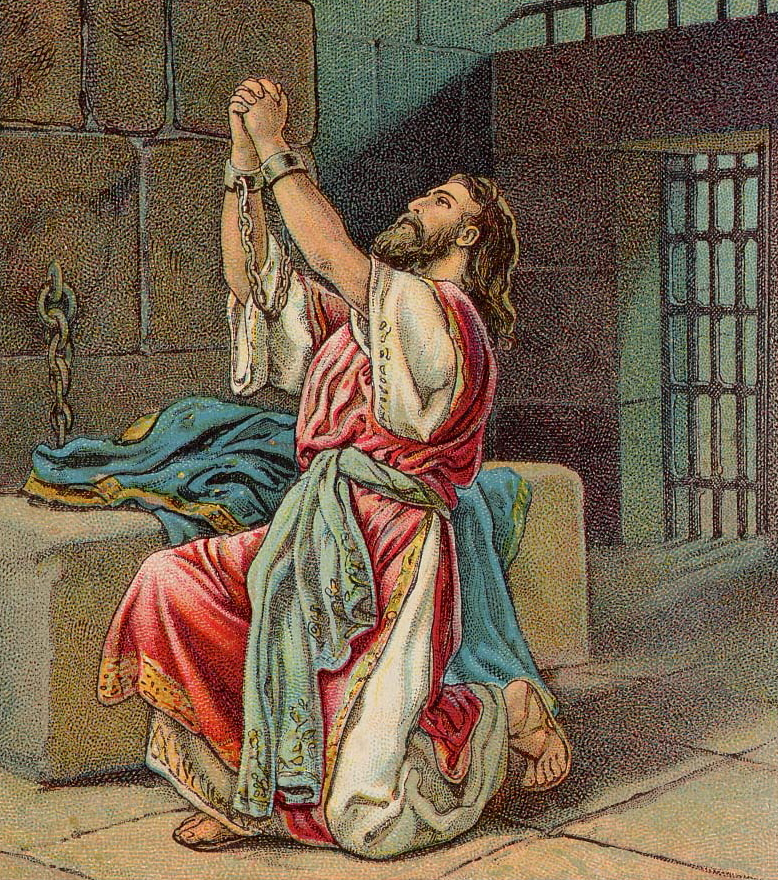 Manasseh's Sin and Repentance (Bible Card)