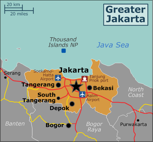 Greater Jakarta - Travel guide at Wikivoyage