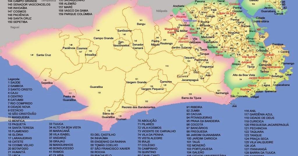 Rio De Janeiro Mapa Bairros.File Mapa2 Bairros Rio De Janeiro Brazil Jpg Wikipedia Le