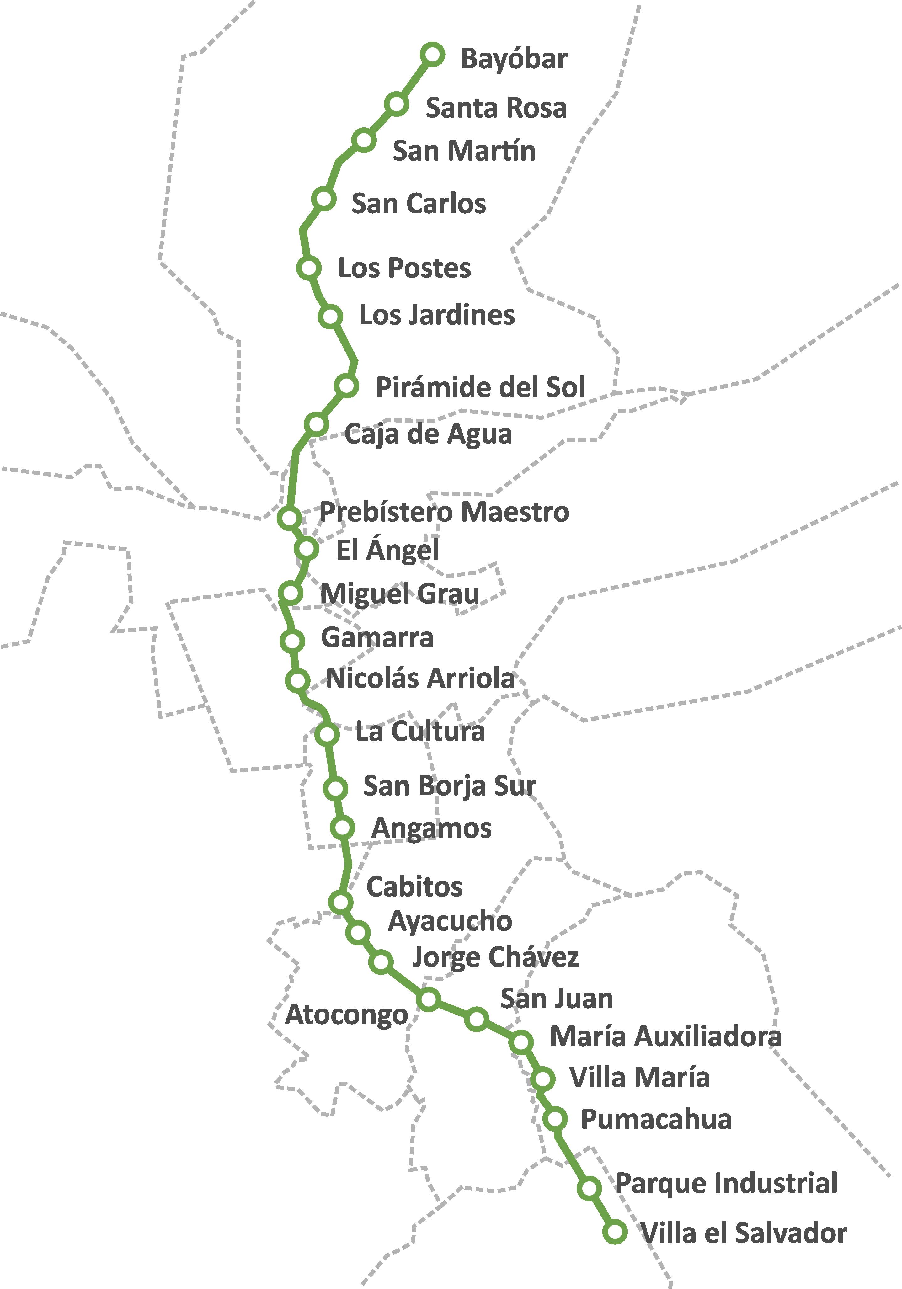 FileMapa de Lnea 1 de Metro de Limapng  Wikimedia Commons