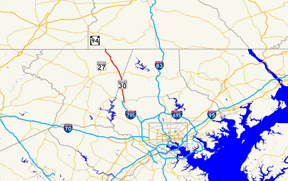 Maryland Route 30 - Wikipedia