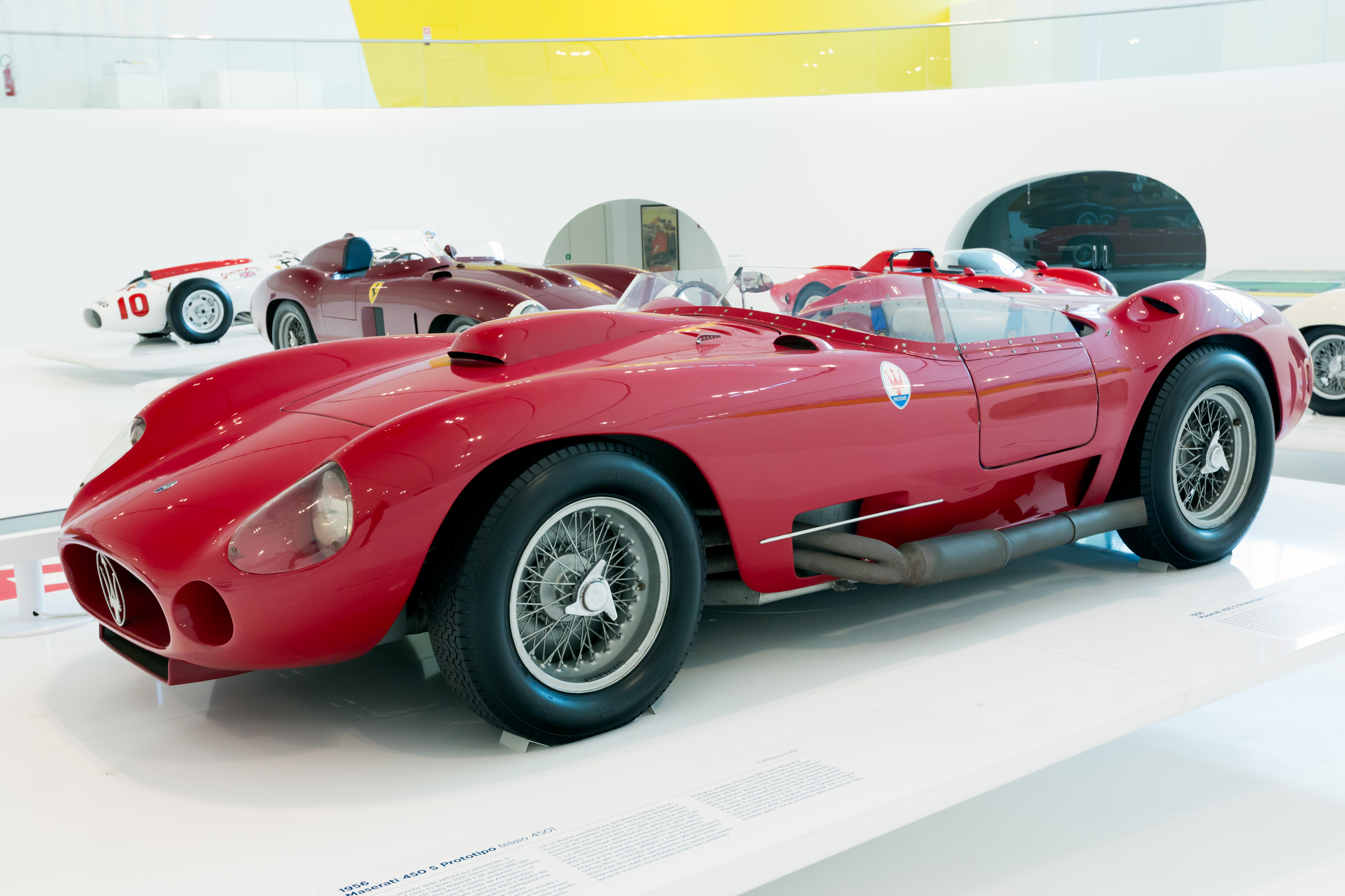 File Maserati 450s Prototype Left Enzo Ferrari Museum Jpg