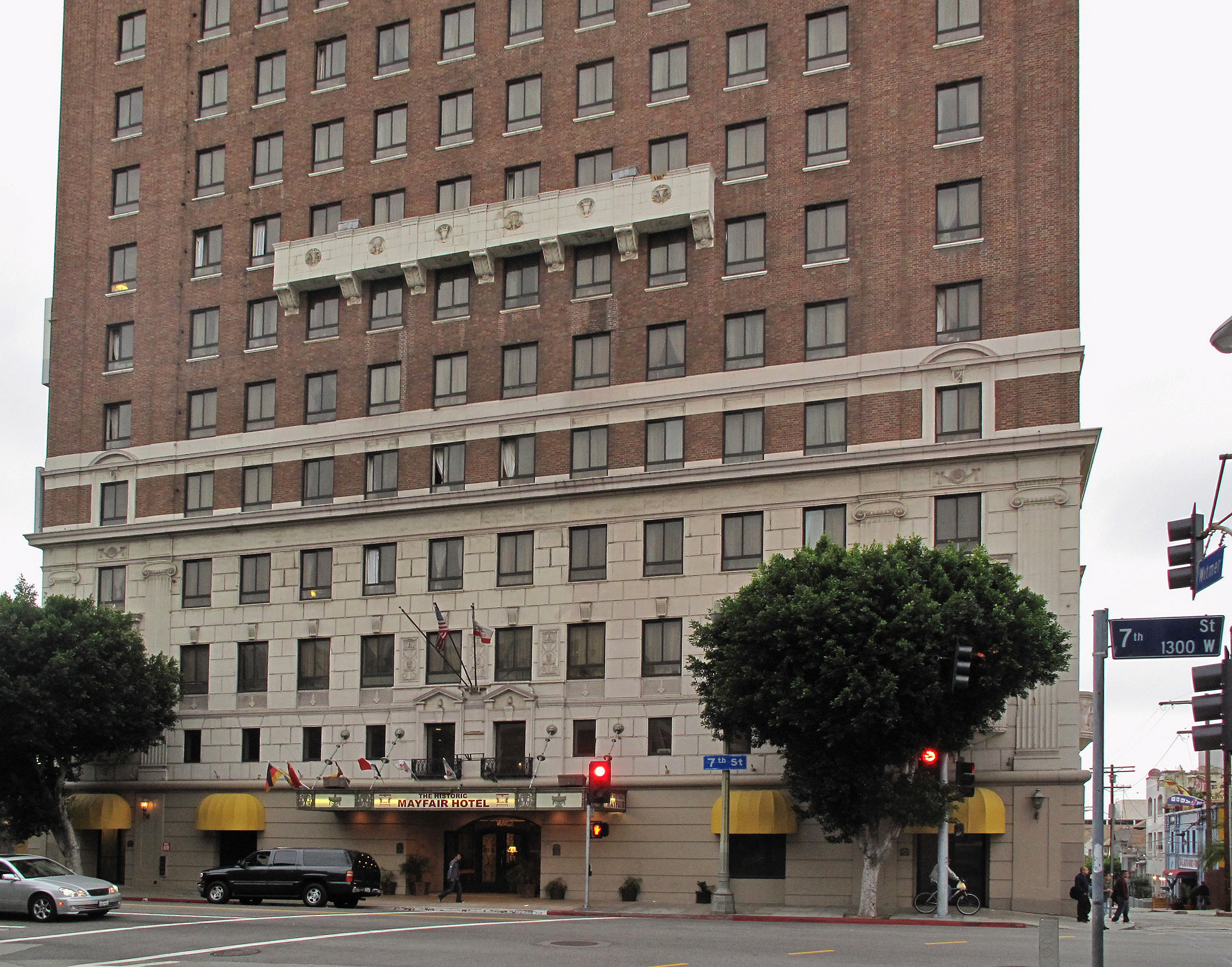 Los Angeles Hotel Downtown Hotel True Lies Ascenseur Ext Ea B Aeur