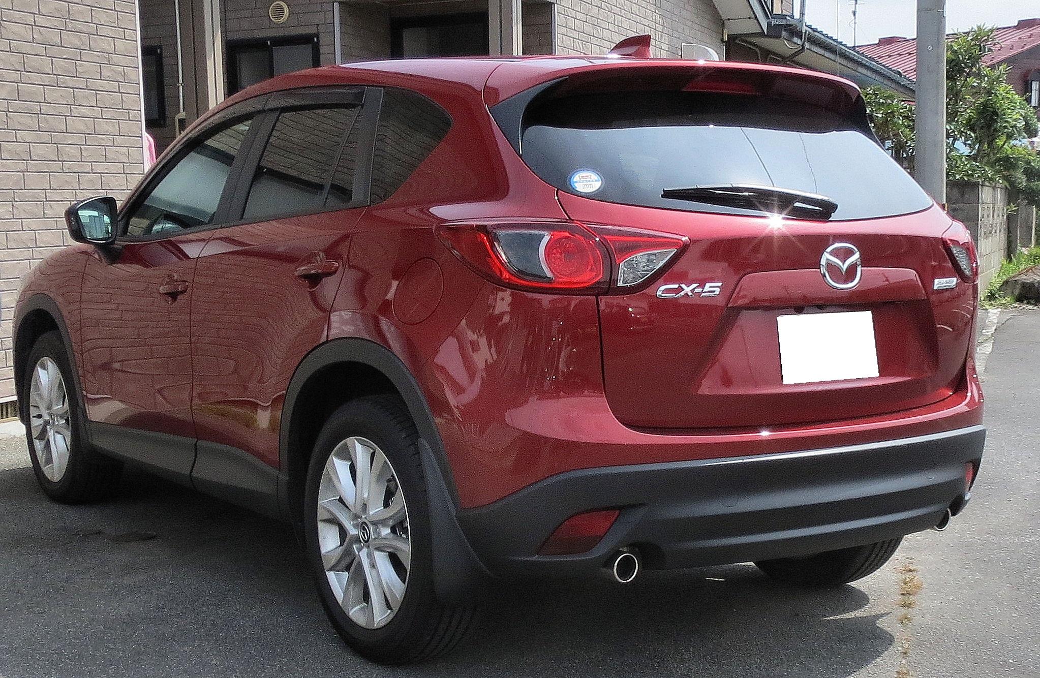 File Mazda Cx 5 Xd L Package 4wd 2 2 Skyactiv D Ke2aw Rear Jpg Wikimedia Commons