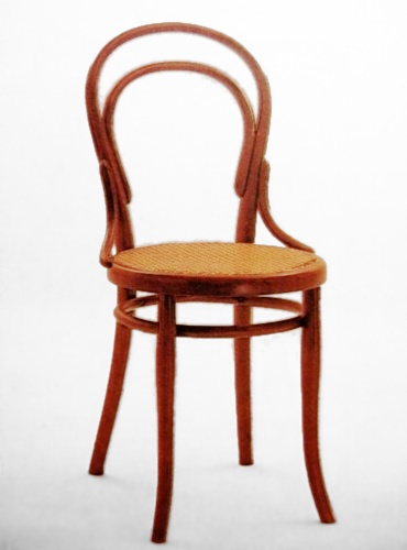 No 14 chair wikipedia for Stuhl design thonet