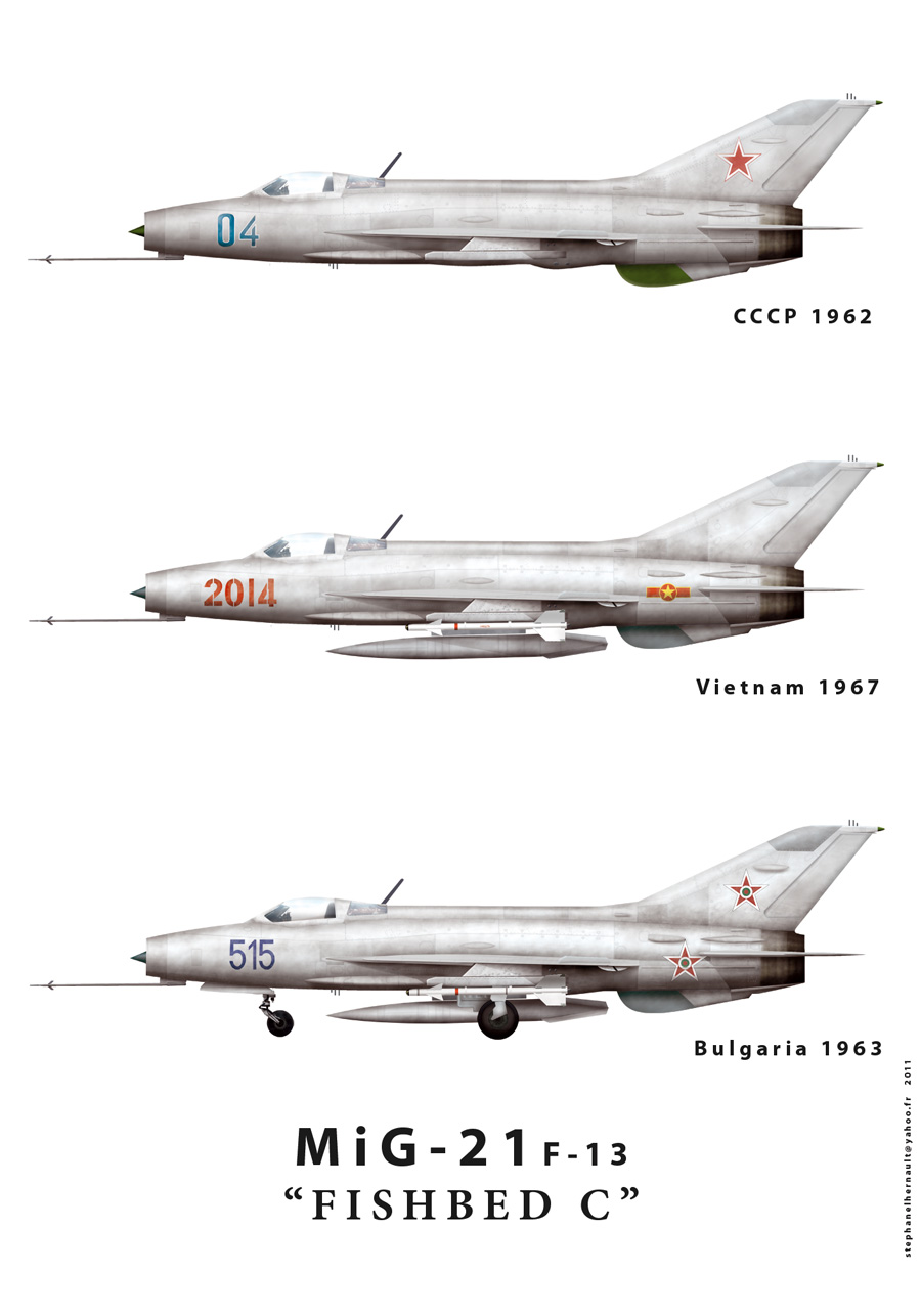 List Of Mikoyan Gurevich Mig 21 Variants Wikipedia