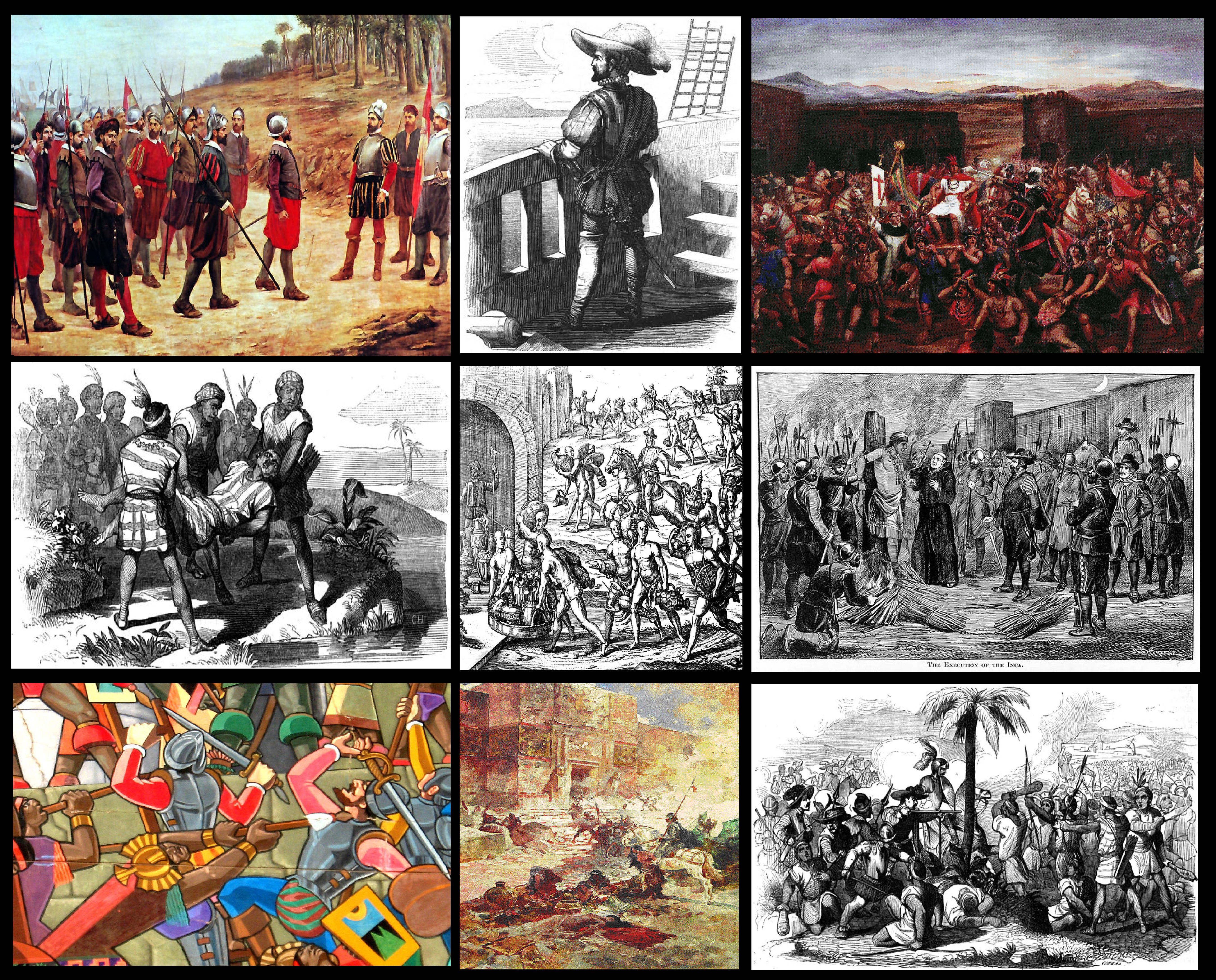 Conquista del Perú - Wikipedia, la enciclopedia libre