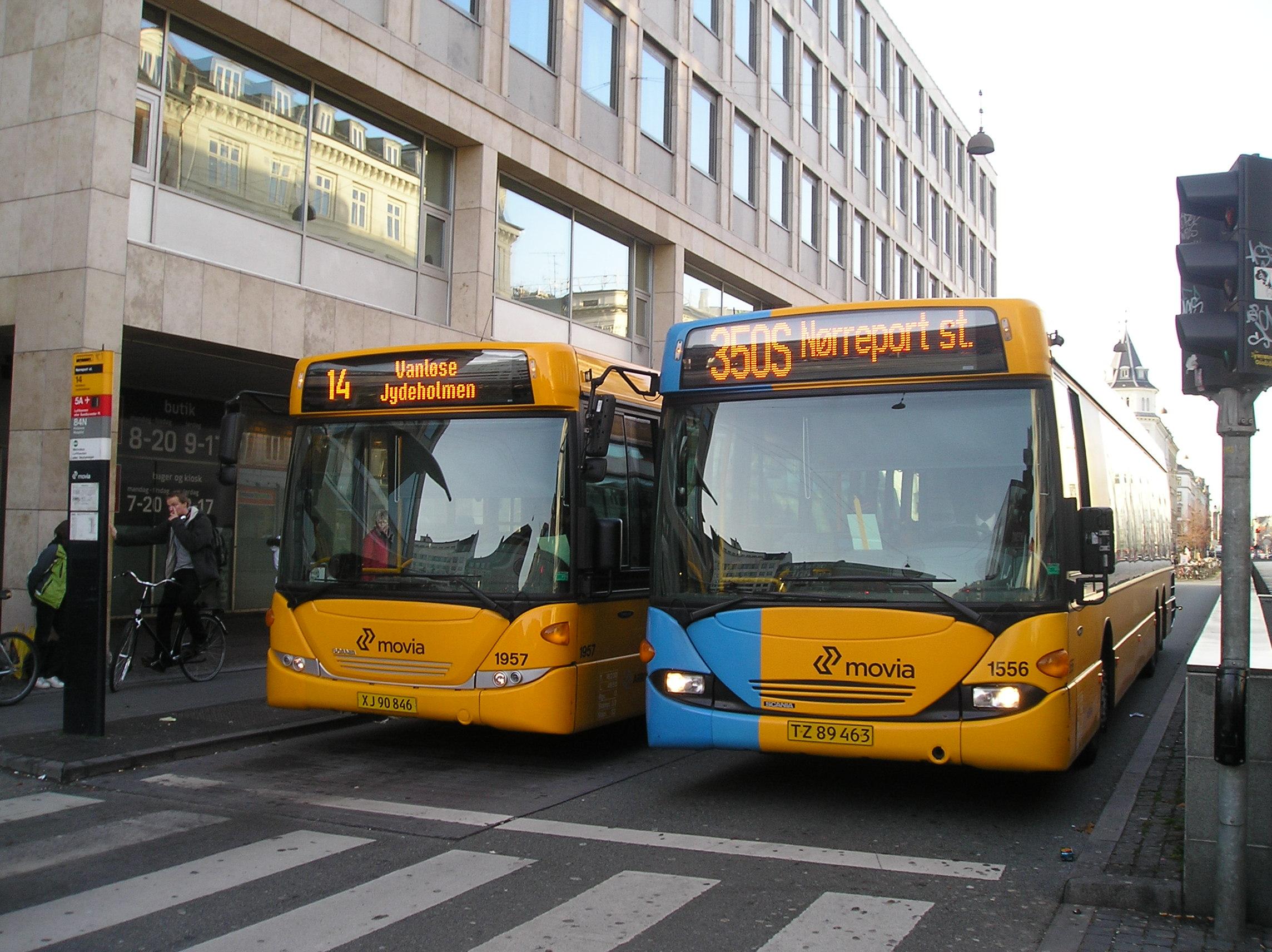 nørreport bus