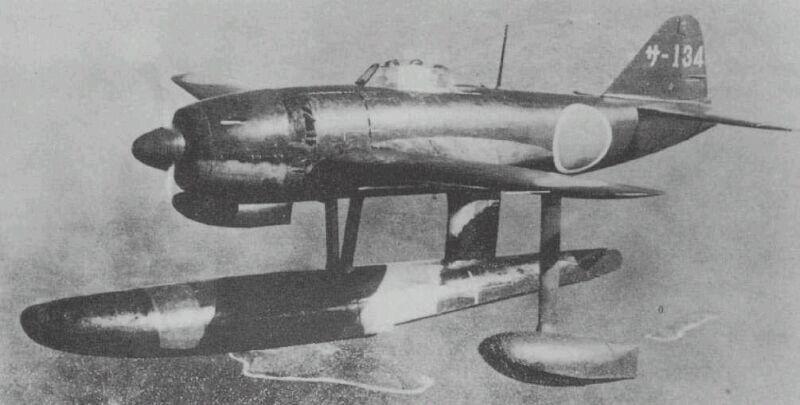 佐世保航空隊の強風(推力式単排気管を備えた後期生産型)