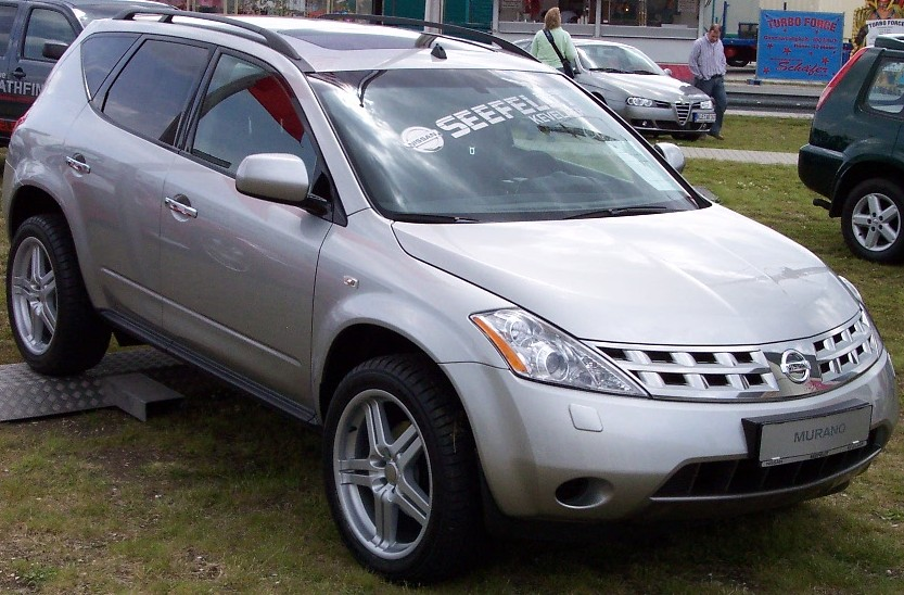 What Is A Crossover Suv >> Nissan Murano – Wikipedia, wolna encyklopedia