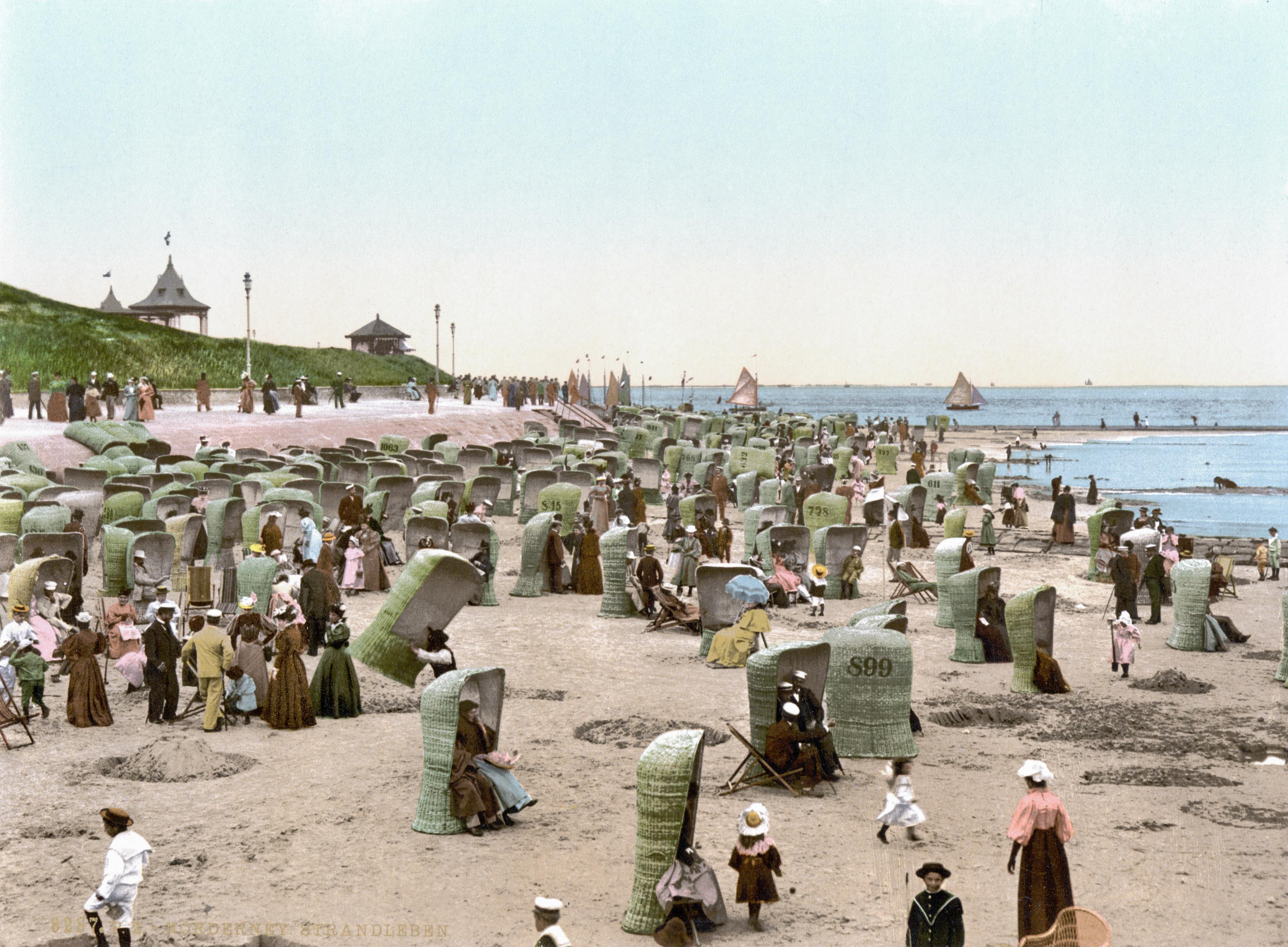File Norderney Strand 1900 Jpg Wikimedia Commons