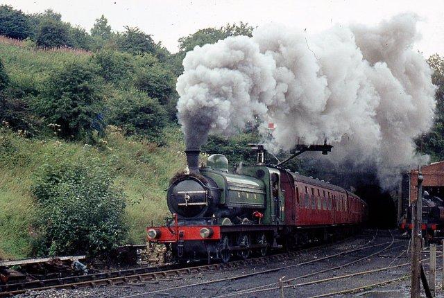 Heritage steam train