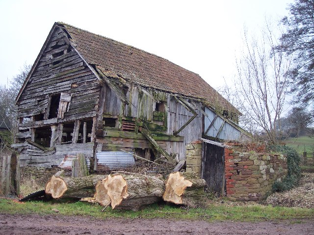 File:Old Buildings, Great Catley - geograph.org.uk ...
