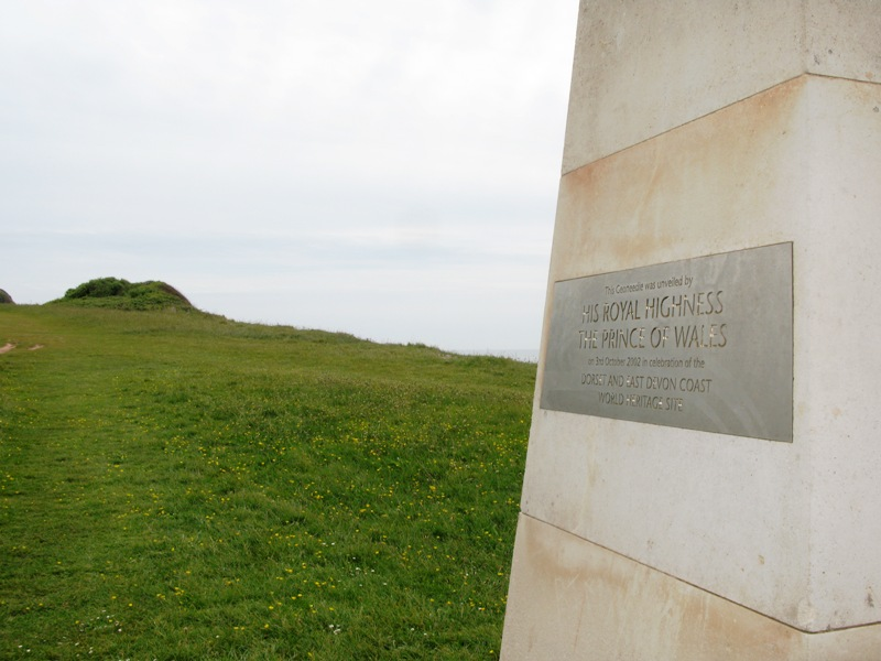 File:Orcombe Point Geoneedle plaque.jpg