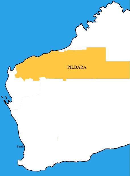 Australia Map Kilometers.Pilbara Wikipedia