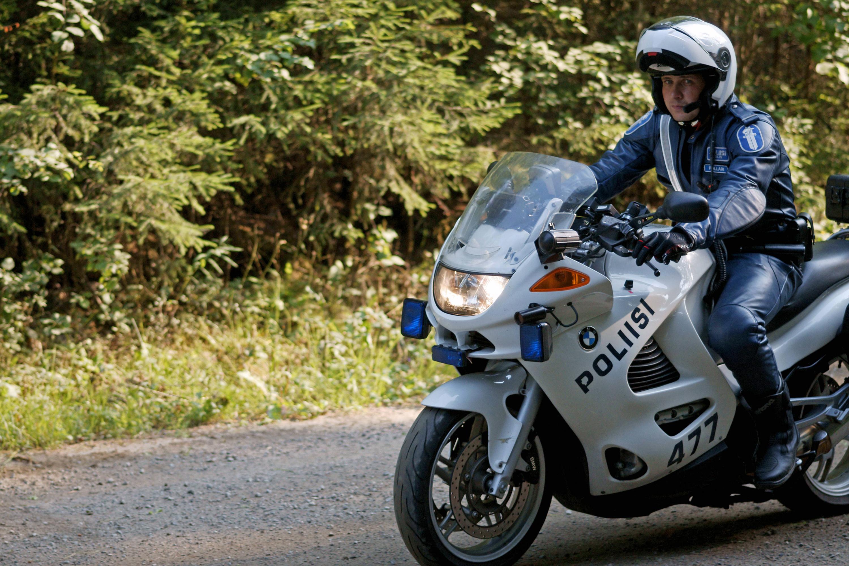 Poliisimoottoripyörä