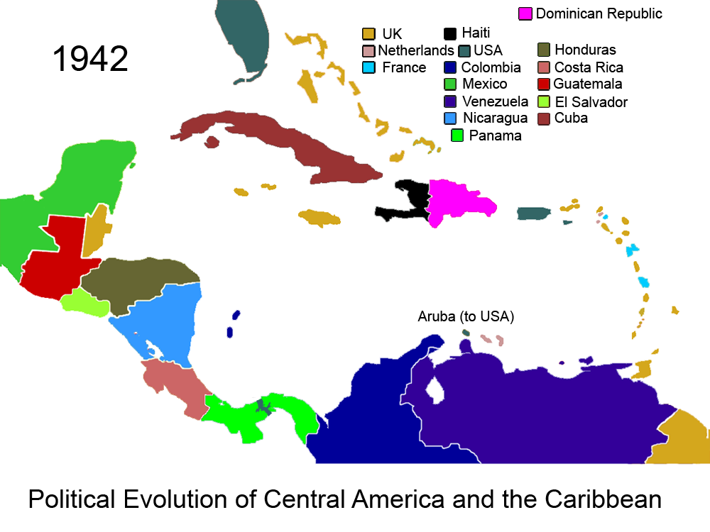 File:Political Evolution of Central America and the