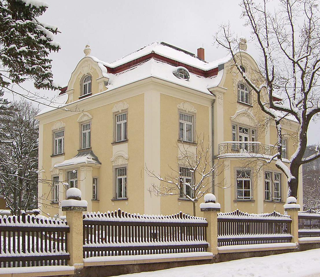 Villa dr k lz stra e 25 radebeul wikipedia - Architekt radebeul ...