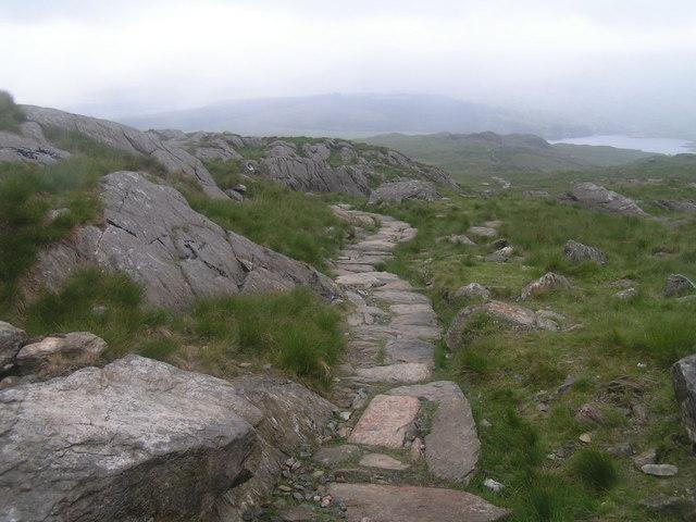 Rhyd-Ddu path, Snowdon - geograph.org.uk - 191509
