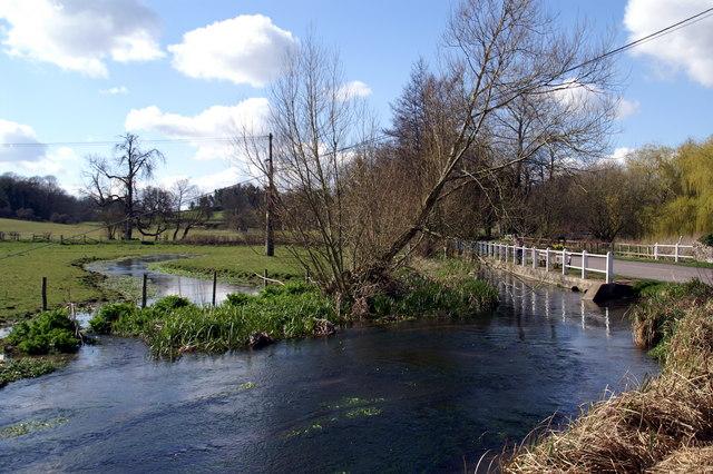 River Meon, Meonstoke - geograph.org.uk - 830666
