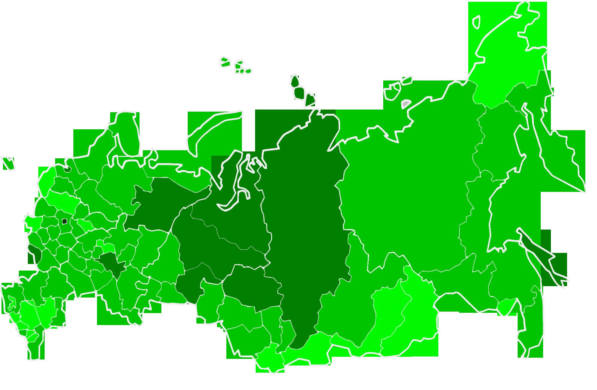 Full list of Russian regions