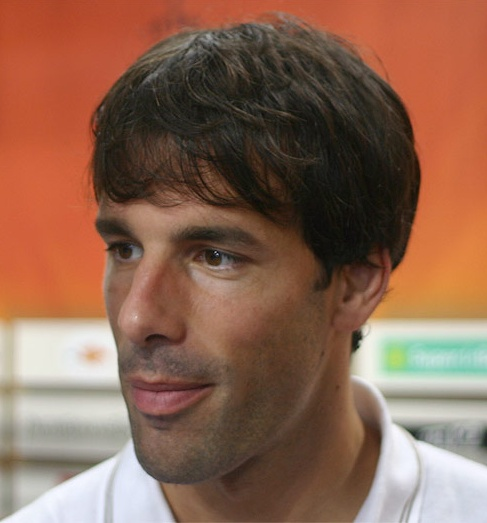 The 42-year old son of father (?) and mother(?) Ruud Van Nistelrooy in 2018 photo. Ruud Van Nistelrooy earned a  million dollar salary - leaving the net worth at 4 million in 2018