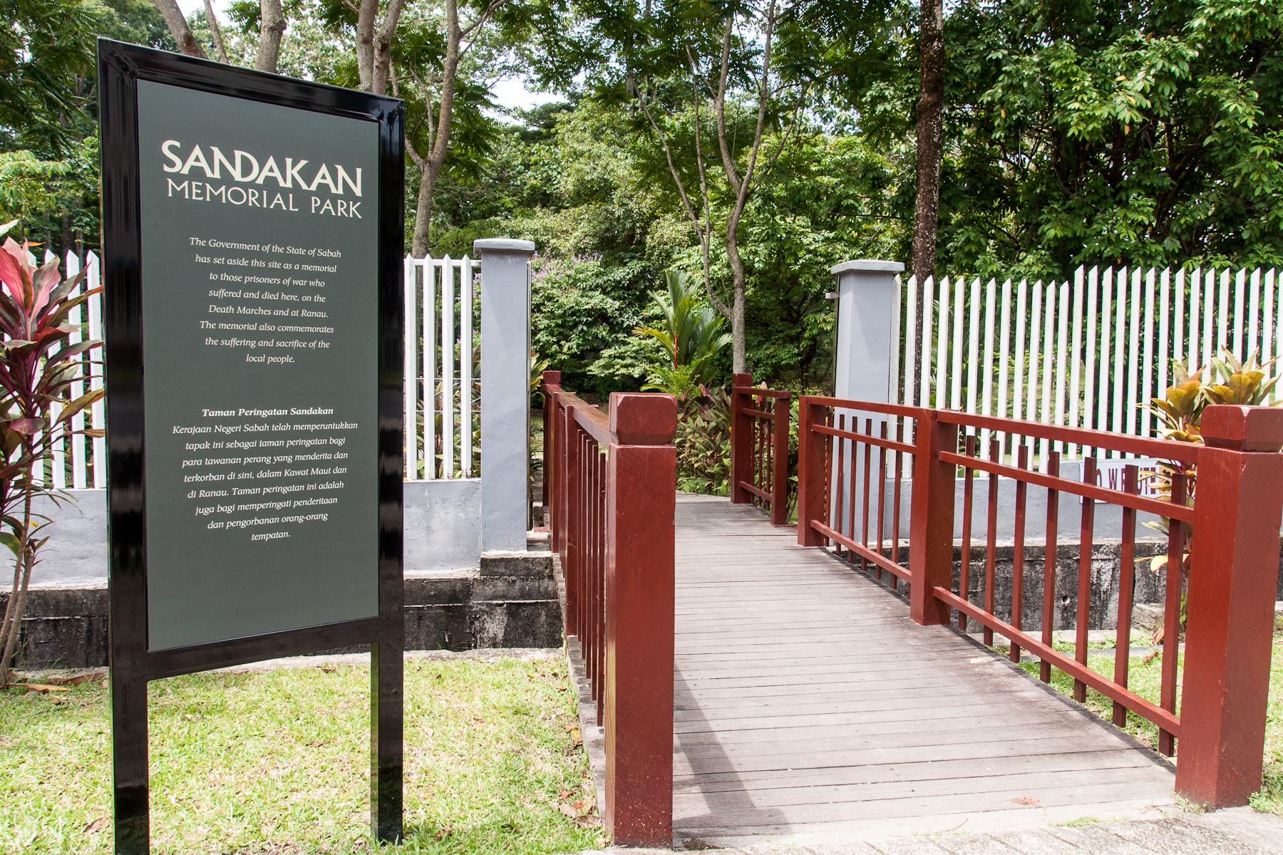 Sandakan Memorial Park - Wikipedia