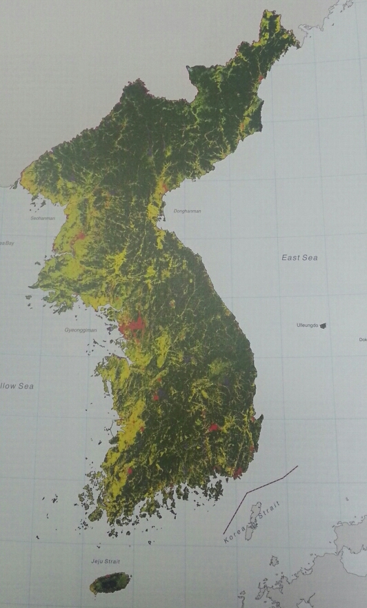 FileSatellite Map Of Koreajpeg Wikimedia Commons - World satellite map 2014