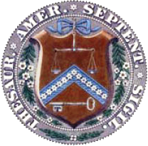 Seal of the United States Department of the Treasury (1789-1968)
