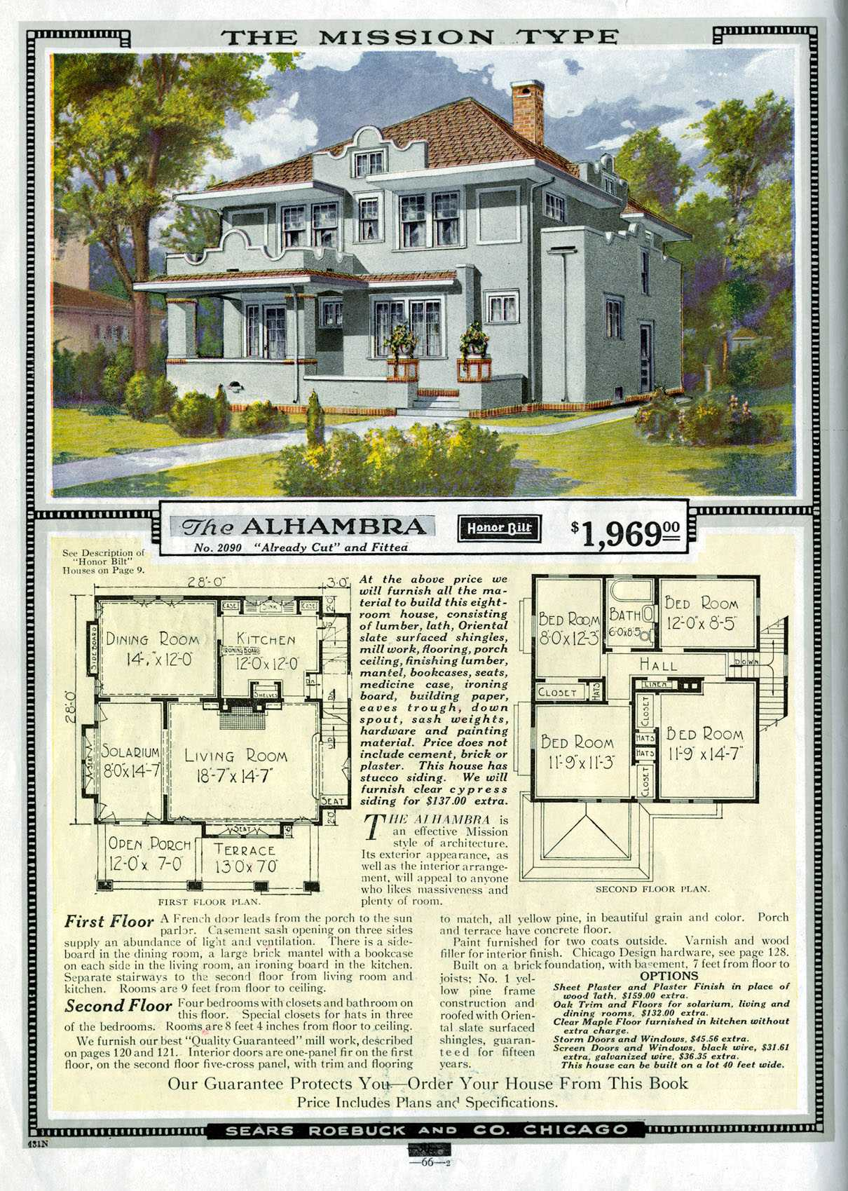 File:SearsHome2090 on 1920s Craftsman Bungalow House Plans
