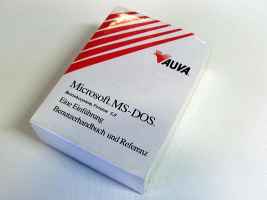 File:Softwarepaket Microsoft MS-DOS 5 0 jpg - Wikimedia Commons