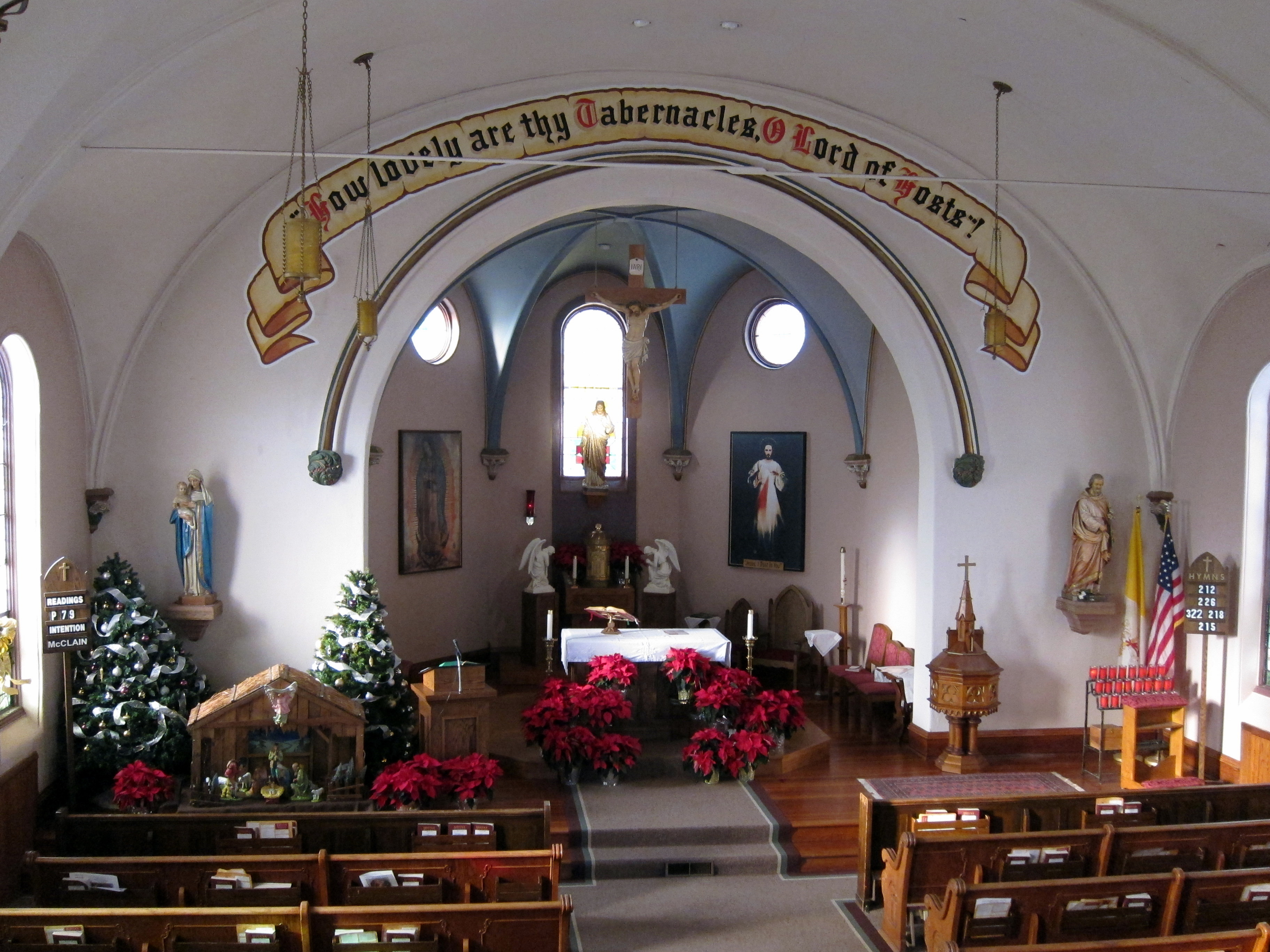 File:St. Joseph Catholic Church (Plain City, Ohio), interior view from ...
