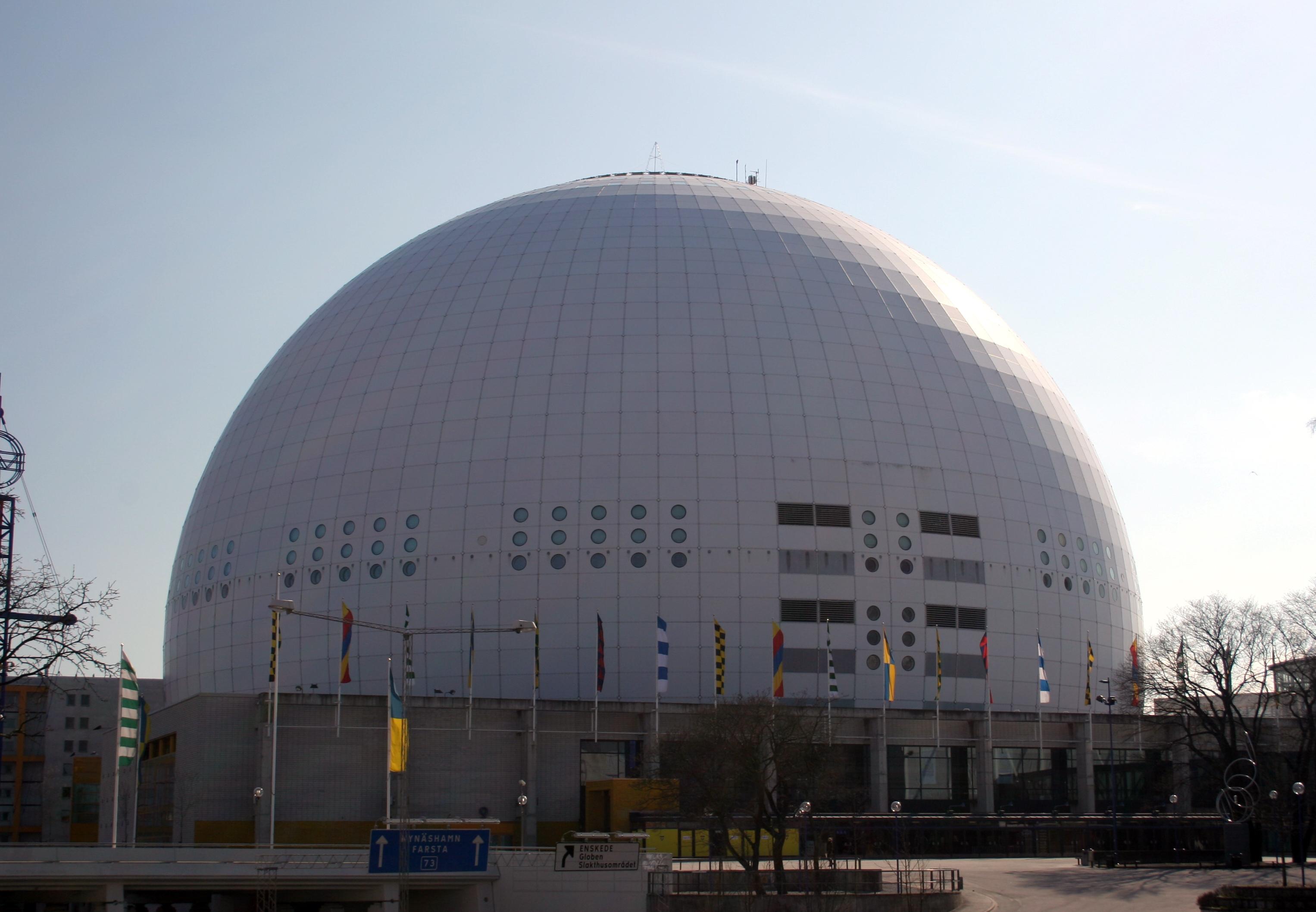 stockholm globen arena