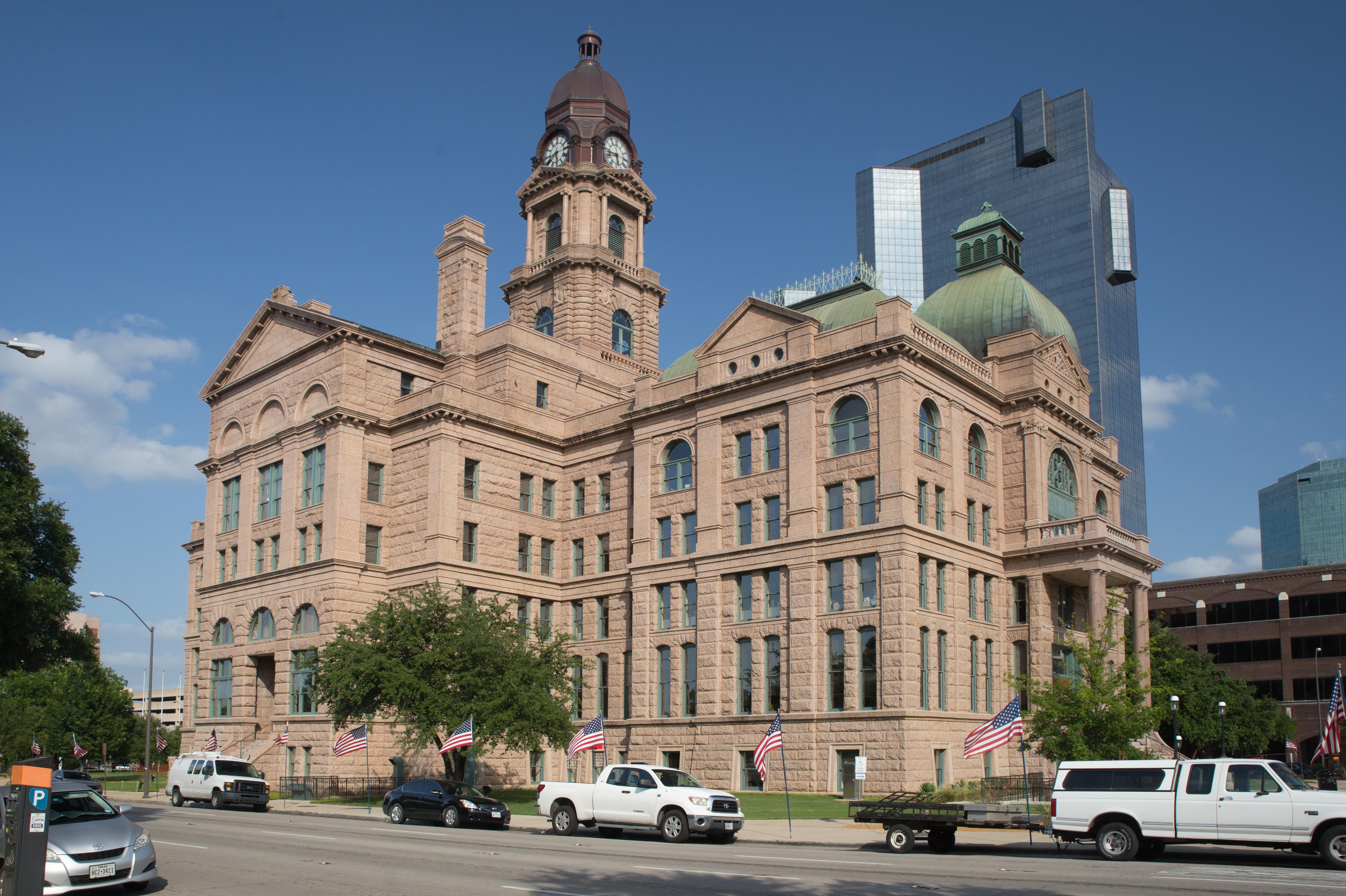 Tarrant County Courthouse - Wikipedia